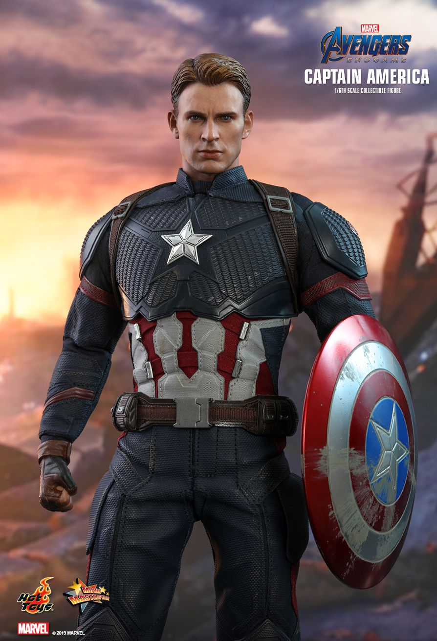 captainamerica - NEW PRODUCT: HOT TOYS: AVENGERS: ENDGAME CAPTAIN AMERICA 1/6TH SCALE COLLECTIBLE FIGURE 9162