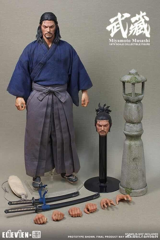 NEW PRODUCT: Eleven X KAI Musashi 1/6 Scale Figure 9171
