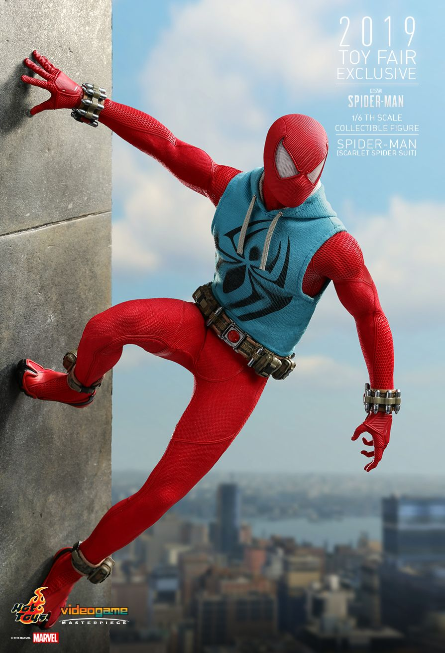 marvel - NEW PRODUCT: HOT TOYS: MARVEL'S SPIDER-MAN SPIDER-MAN (SCARLET SPIDER SUIT) 1/6TH SCALE COLLECTIBLE FIGURE 9179