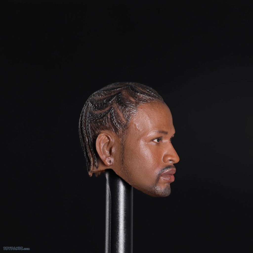 basketball - NEW PRODUCT: Advance Toys: 1/6 Iverson Headsculpt Open Mouth (AD-033A) & Normal Iverson Headsculpt (AD-033B) 918