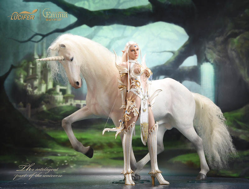 fantasy - NEW PRODUCT: [LXF-1904B] Elf Queen Emma Queen Version 1:6 Figure by Lucifer 9181
