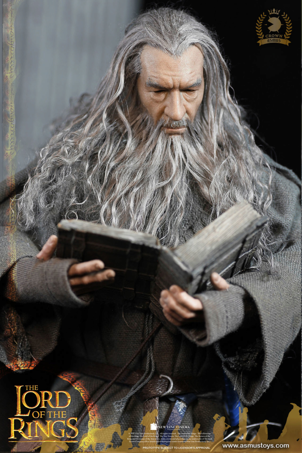 NEW PRODUCT: ASMUS TOYS THE CROWN SERIES : GANDALF THE GREY 1/6 figure 9190