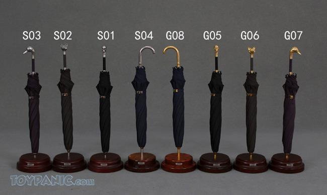 NEW PRODUCT: 1/6 High grade Umbrella (8 Variations)  From Trump Manufacture  Code: TM-S01 - 08 91920113