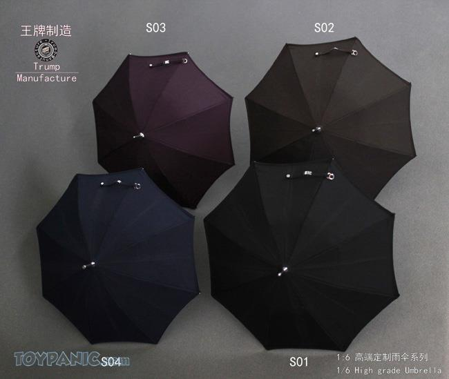 NEW PRODUCT: 1/6 High grade Umbrella (8 Variations)  From Trump Manufacture  Code: TM-S01 - 08 91920114
