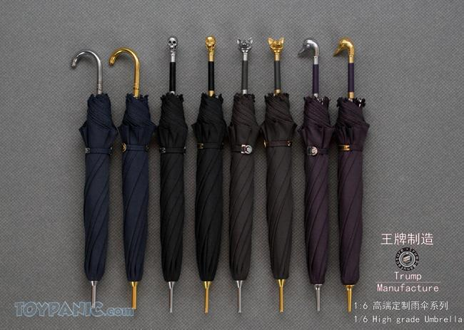 NEW PRODUCT: 1/6 High grade Umbrella (8 Variations)  From Trump Manufacture  Code: TM-S01 - 08 91920115