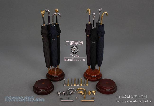 NEW PRODUCT: 1/6 High grade Umbrella (8 Variations)  From Trump Manufacture  Code: TM-S01 - 08 91920117
