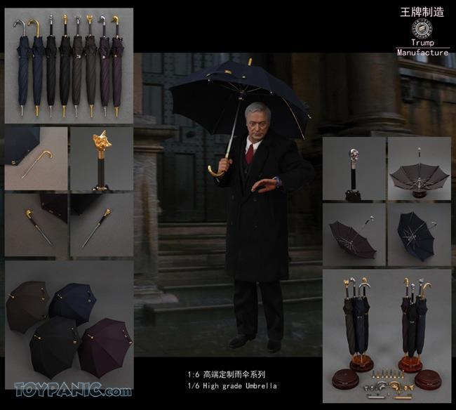 NEW PRODUCT: 1/6 High grade Umbrella (8 Variations)  From Trump Manufacture  Code: TM-S01 - 08 91920120