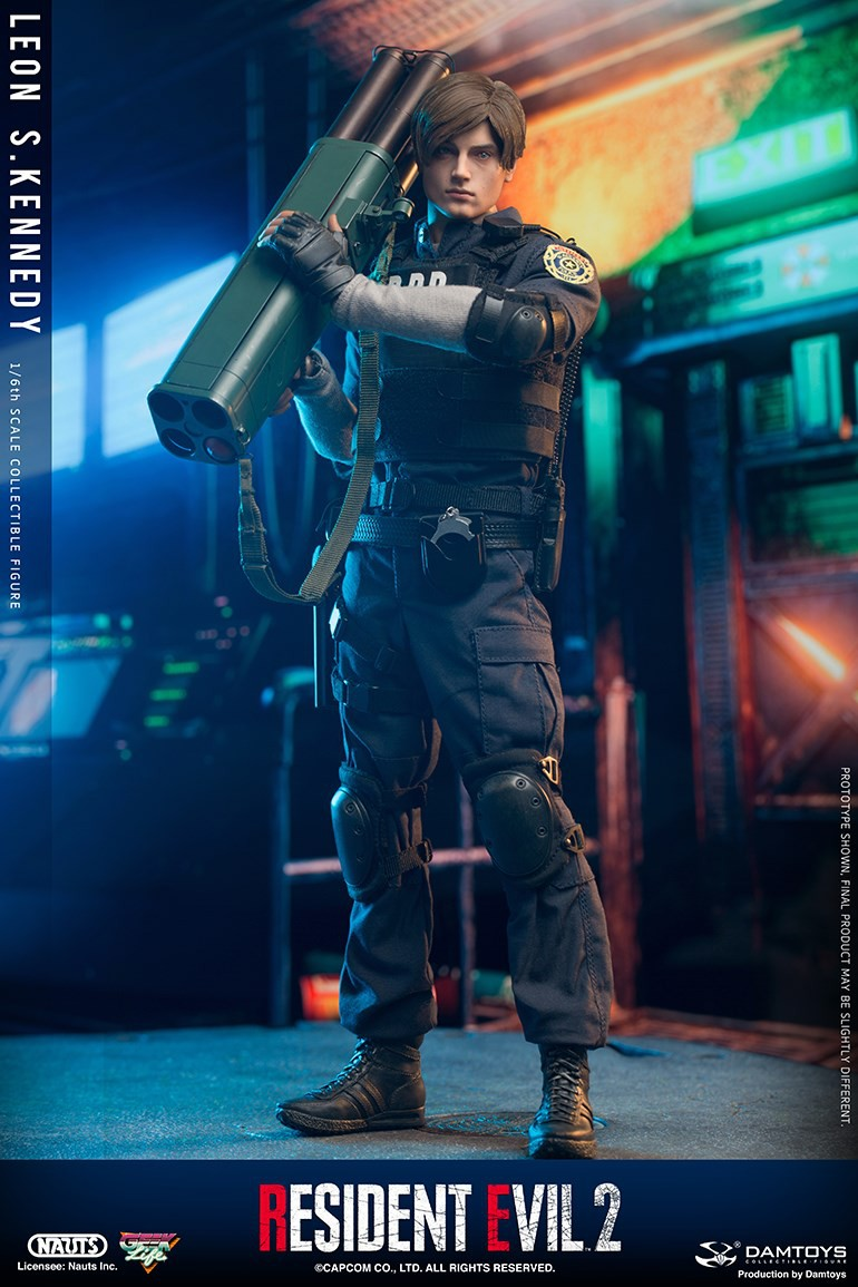 "Sci-Fi - NEW PRODUCT: NAUTS & DAMTOYS: 1/6 ""Resident Evil 2""-LEON S.KENNEDY/Lyon S. Kennedy remake #DMS030  91a41010"
