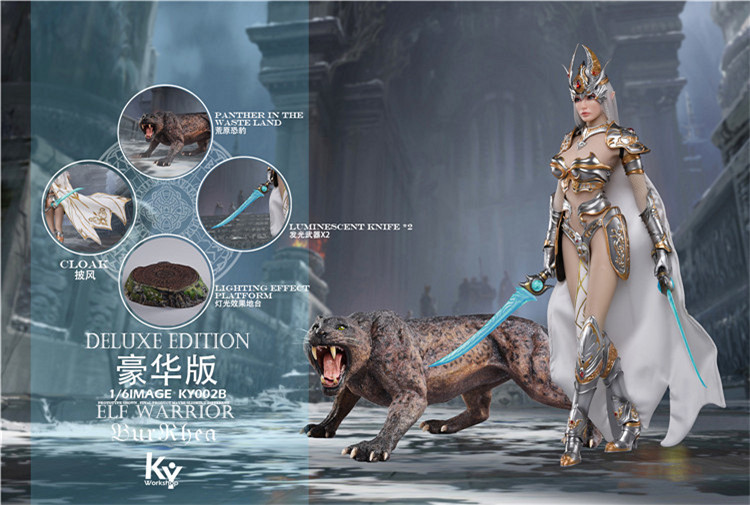 fantasy - NEW PRODUCT: 1/6 KYStudio Female Soldier Elf Female Soldier Burryna KY001 & KY002 (2 versions of each Standard & Deluxe) 9201