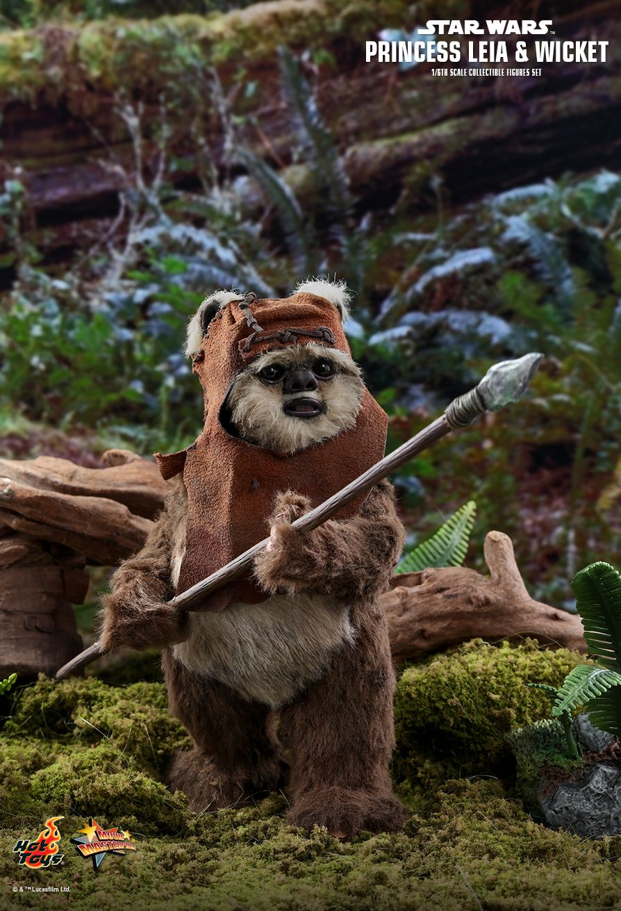 Endor Leia - NEW PRODUCT: HOT TOYS: STAR WARS: RETURN OF THE JEDI PRINCESS LEIA AND WICKET 1/6TH SCALE COLLECTIBLE FIGURES SET 9205