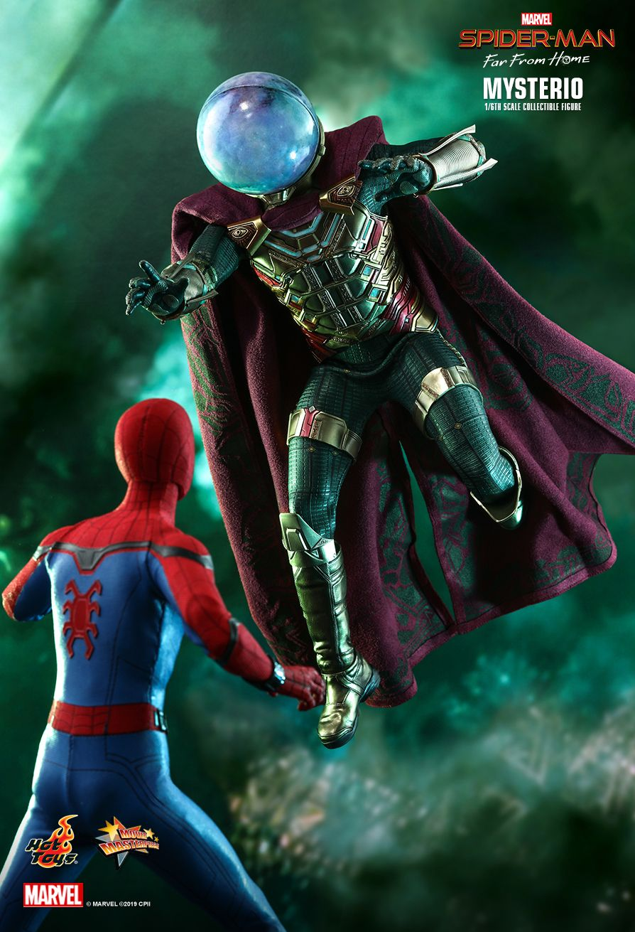 NEW PRODUCT: HOT TOYS: SPIDER-MAN: FAR FROM HOME MYSTERIO 1/6TH SCALE COLLECTIBLE FIGURE 9211