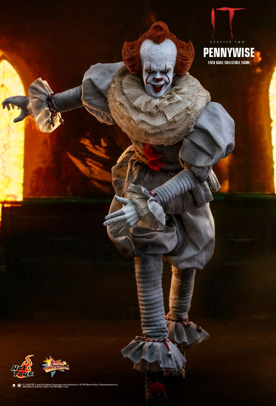NEW PRODUCT: HOT TOYS: IT CHAPTER TWO PENNYWISE 1/6TH SCALE COLLECTIBLE FIGURE 9212