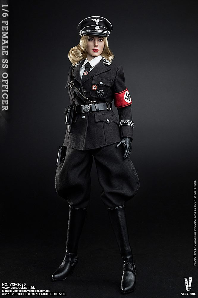 VeryCool - NEW PRODUCT: VERYCOOL VCF-2036 1/6 SS Female Officer 922