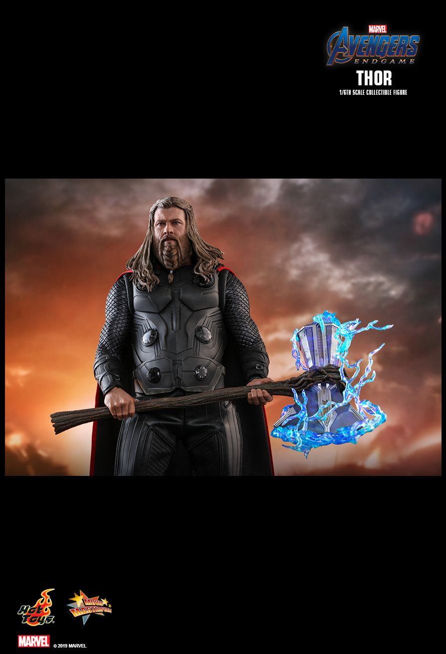 marvel - NEW PRODUCT: HOT TOYS: AVENGERS: ENDGAME THOR 1/6TH SCALE COLLECTIBLE FIGURE 9220
