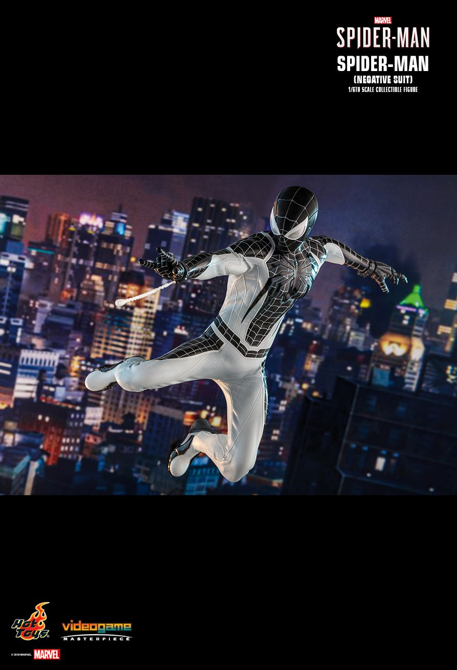 Spider-Man - NEW PRODUCT: HOT TOYS: MARVEL'S SPIDER-MAN SPIDER-MAN (NEGATIVE SUIT) 1/6TH SCALE COLLECTIBLE FIGURE (EXCLUSIVE EDITION) 9225