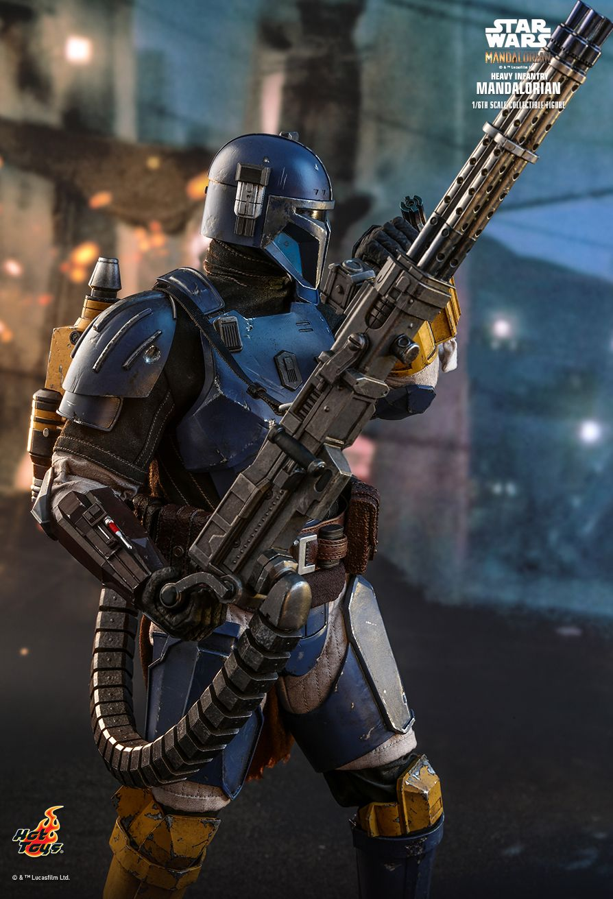 sci-fi - NEW PRODUCT: HOT TOYS: THE MANDALORIAN: HEAVY INFANTRY MANDALORIAN 1/6TH SCALE COLLECTIBLE FIGURE 9232