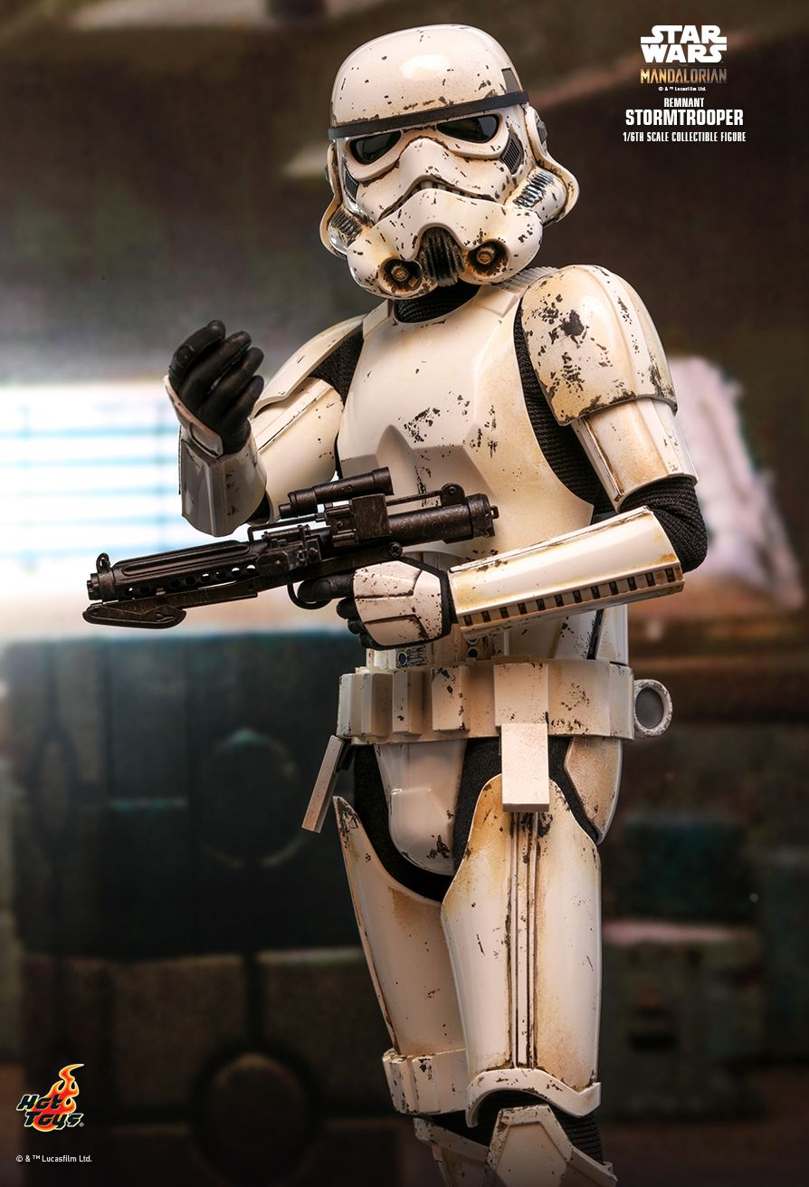 sci-fi - NEW PRODUCT: HOT TOYS: THE MANDALORIAN REMNANT STORMTROOPER 1/6TH SCALE COLLECTIBLE FIGURE 9237