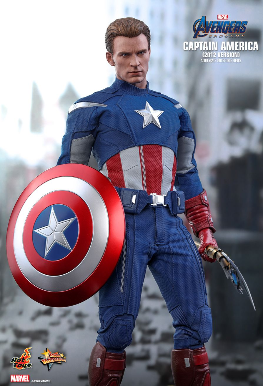 movie - NEW PRODUCT: HOT TOYS: AVENGERS: ENDGAME CAPTAIN AMERICA (2012 VERSION) 1/6TH SCALE COLLECTIBLE FIGURE 9240
