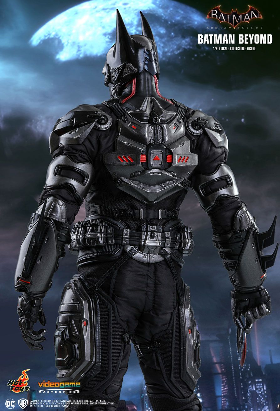 BatmanBeyond - NEW PRODUCT: HOT TOYS: BATMAN: ARKHAM KNIGHT BATMAN BEYOND 1/6TH SCALE COLLECTIBLE FIGURE 9248