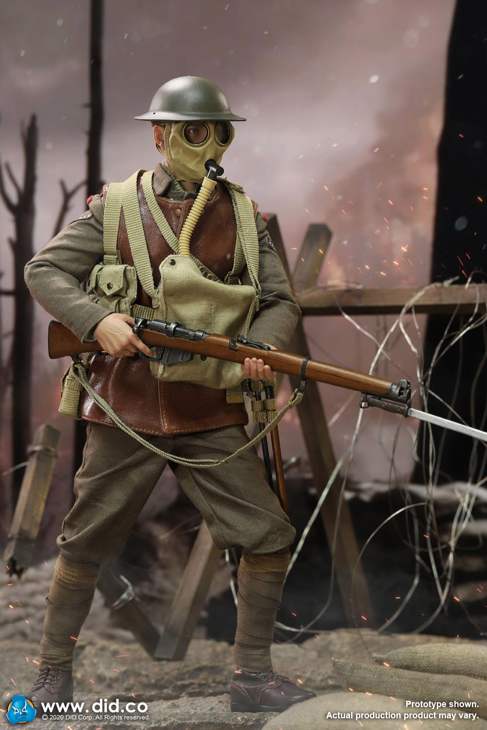 military - NEW PRODUCT: DiD: B11011 WWI British Infantry Lance Corporal William & Trench Diorama Set (UPDATED INFORMATION) 924a7610
