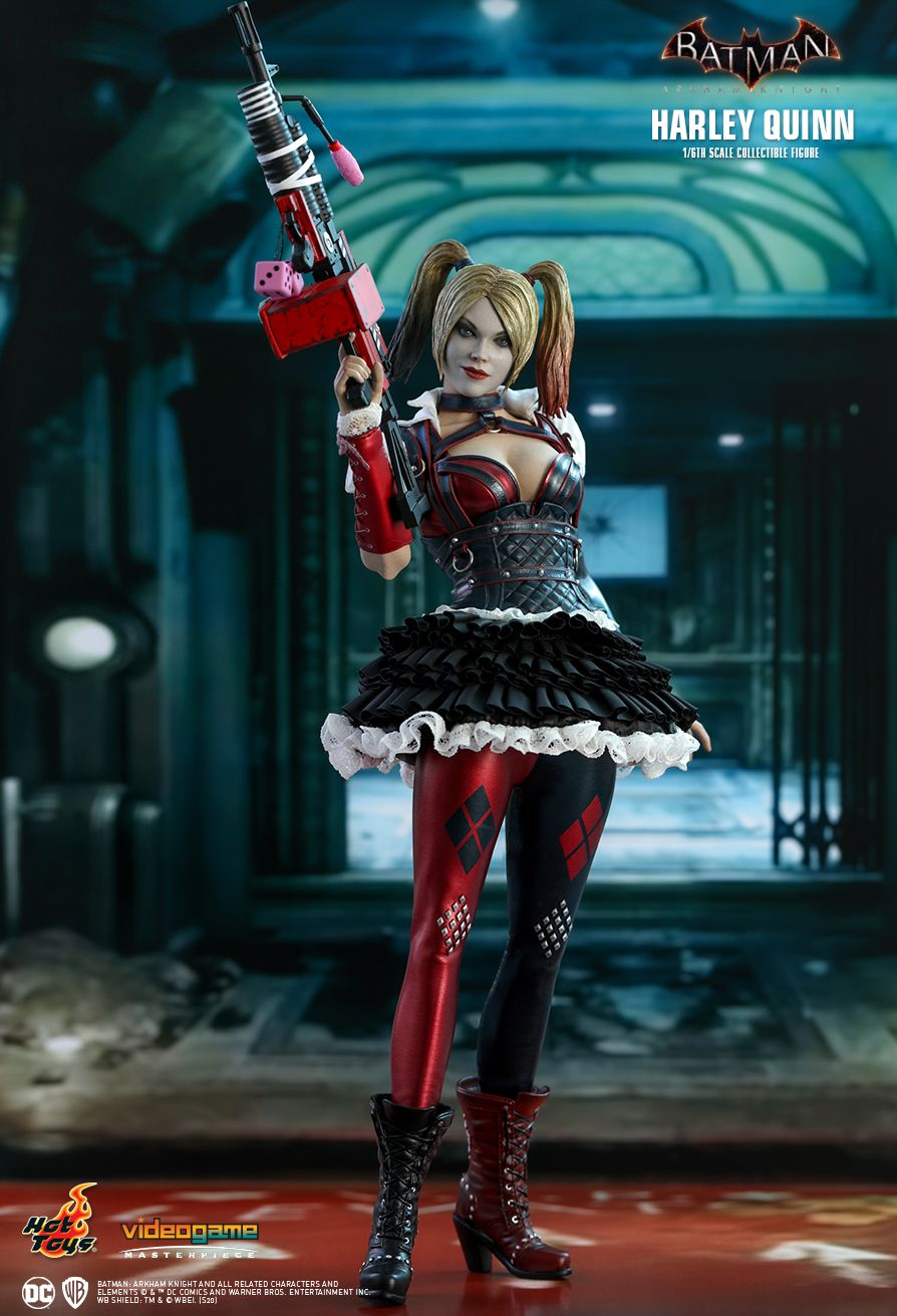 HarleyQuinn - NEW PRODUCT: HOT TOYS: BATMAN: ARKHAM KNIGHT HARLEY QUINN 1/6TH SCALE COLLECTIBLE FIGURE 9262