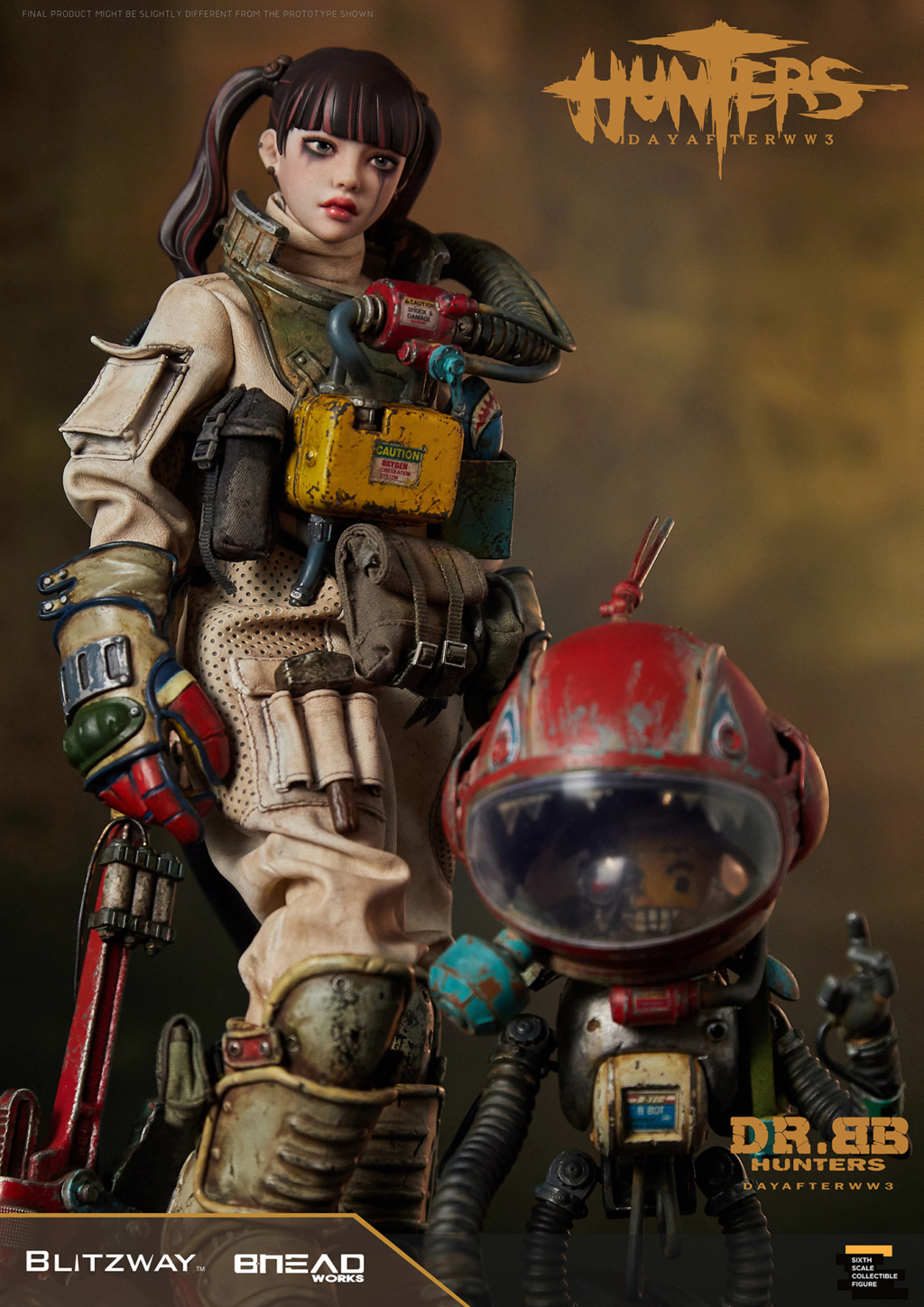 Robot - NEW PRODUCT: Blitzway: 1/6 scale HUNTERS : Day After WWlll: Dr.BB Action Figure 9263