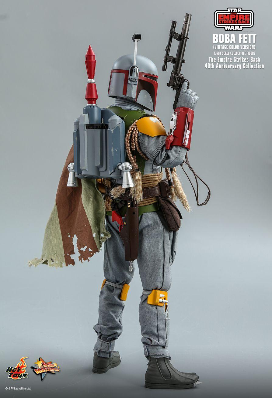 sci-fi - NEW PRODUCT: HOT TOYS: STAR WARS: THE EMPIRE STRIKES BACK™ BOBA FETT™ (VINTAGE COLOR VERSION) (40TH ANNIVERSARY COLLECTION) 1/6TH SCALE COLLECTIBLE FIGURE 9279