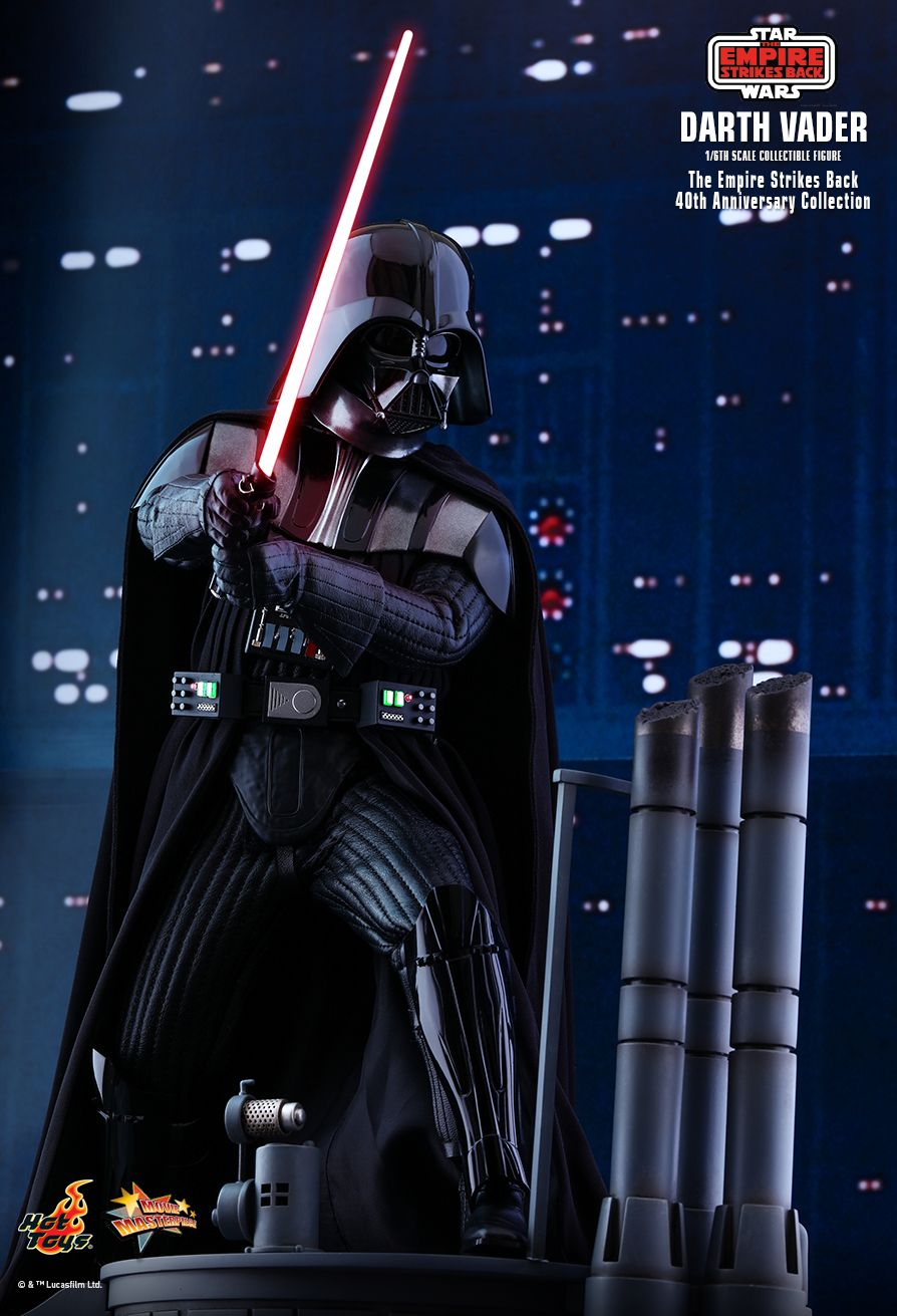40thAnniversaryCollection - NEW PRODUCT: HOT TOYS: STAR WARS: THE EMPIRE STRIKES BACK™ DARTH VADER™ (40TH ANNIVERSARY COLLECTION) 1/6TH SCALE COLLECTIBLE FIGURE 9280