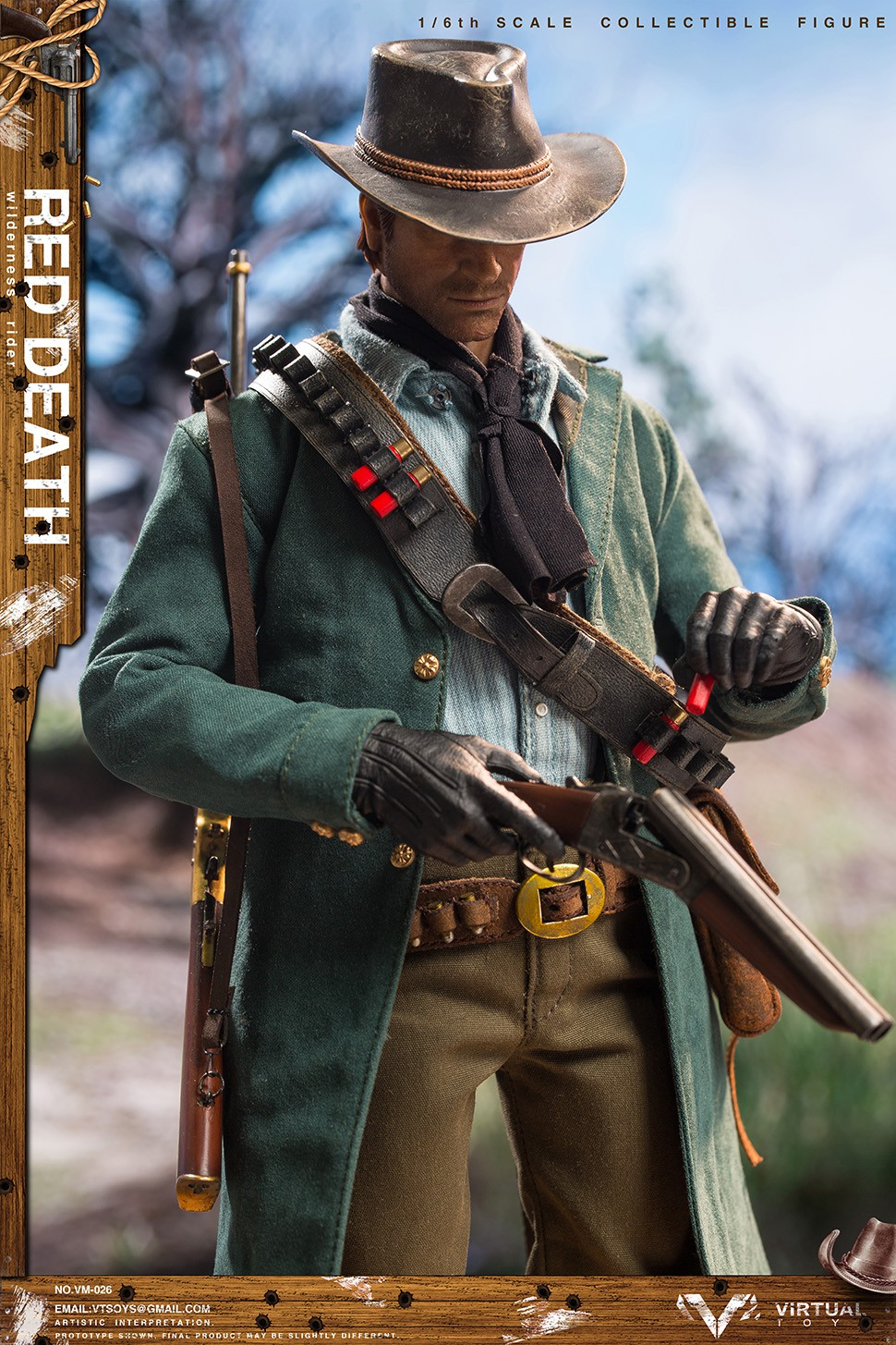 cowboy - NEW PRODUCT: VTS TOYS VM-026 Wilderness Rider 1/6 Figure 9283