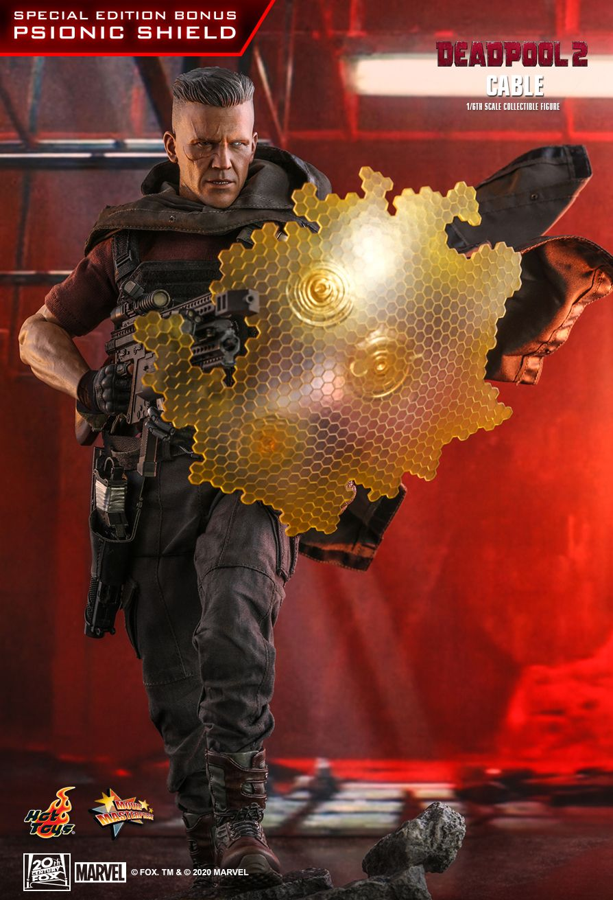 NEW PRODUCT: HOT TOYS: DEADPOOL 2 CABLE 1/6TH SCALE COLLECTIBLE FIGURE 9303