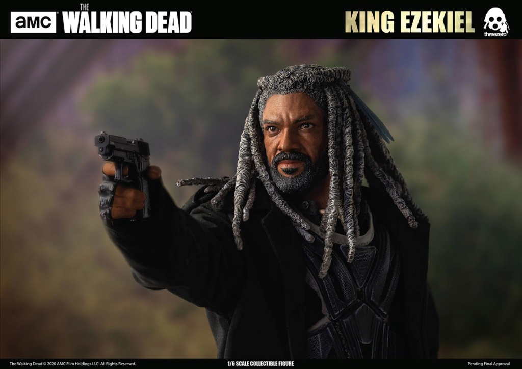 walkingdead - NEW PRODUCT: Threezero: The Walking Dead – 1/6 King Ezekiel 9305