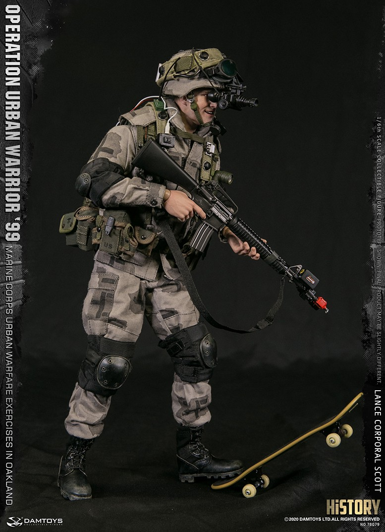 MarineCorps - NEW PRODUCT: DAMToys: 1/6 '99 City Warrior Operation-Marine Corps Oakland City Battle Exercise - Lance Corporal Scott #78079 9312