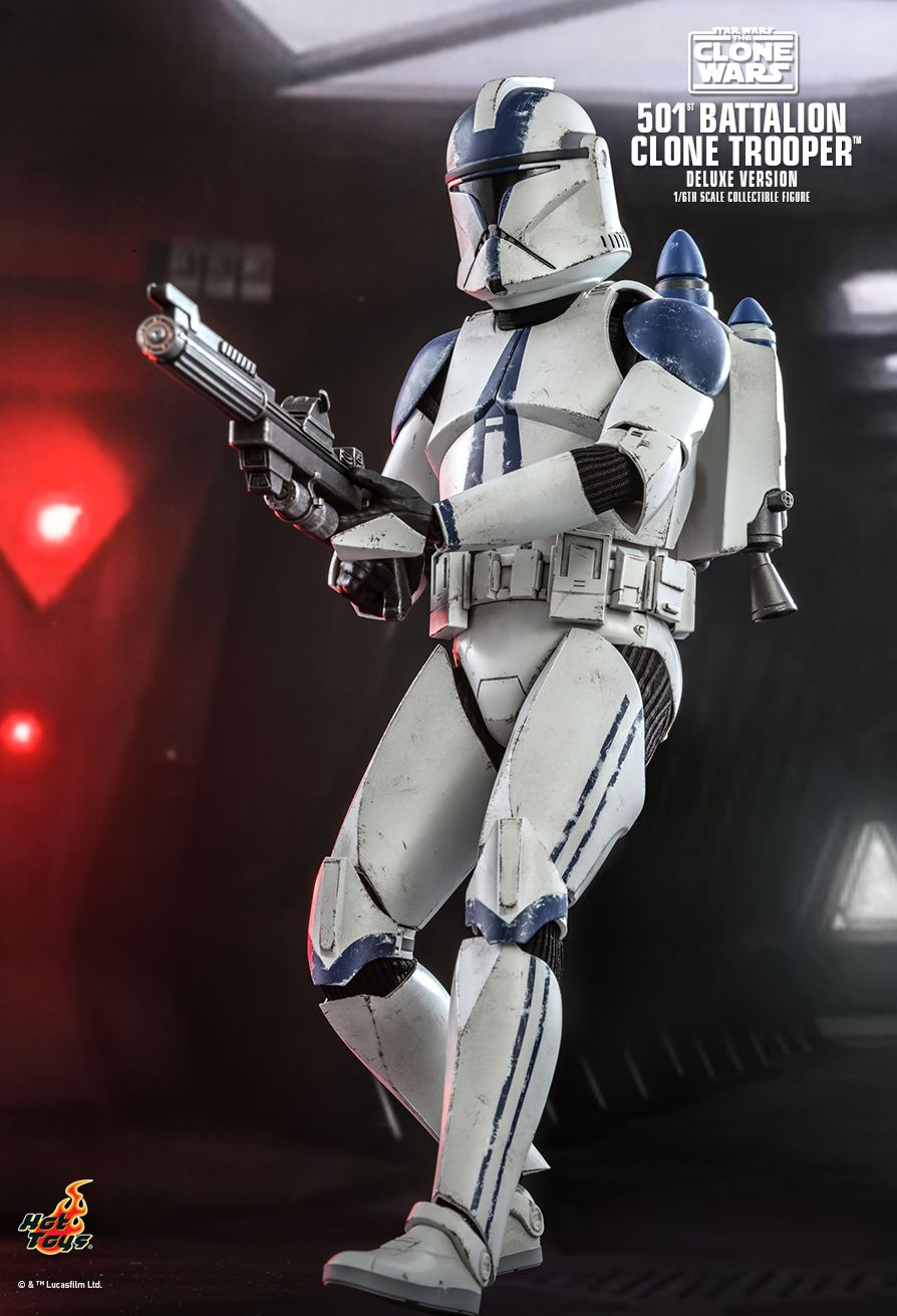hottoys - NEW PRODUCT: HOT TOYS: STAR WARS: THE CLONE WARS™ 501ST BATTALION CLONE TROOPER™ (DELUXE VERSION) 1/6TH SCALE COLLECTIBLE FIGURE 9314
