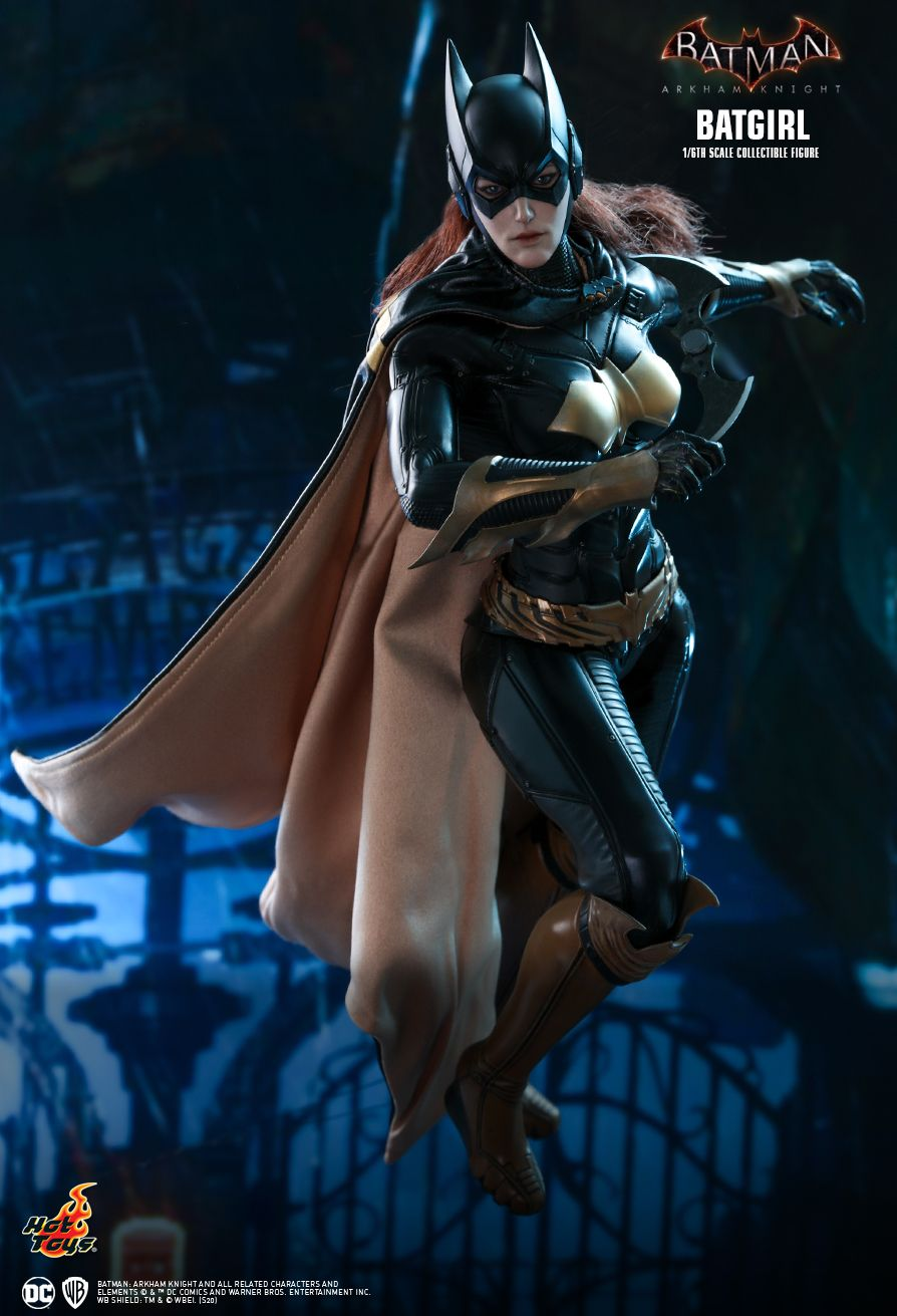 Batman - NEW PRODUCT: HOT TOYS: BATMAN: ARKHAM KNIGHT BATGIRL 1/6TH SCALE COLLECTIBLE FIGURE 96c15710