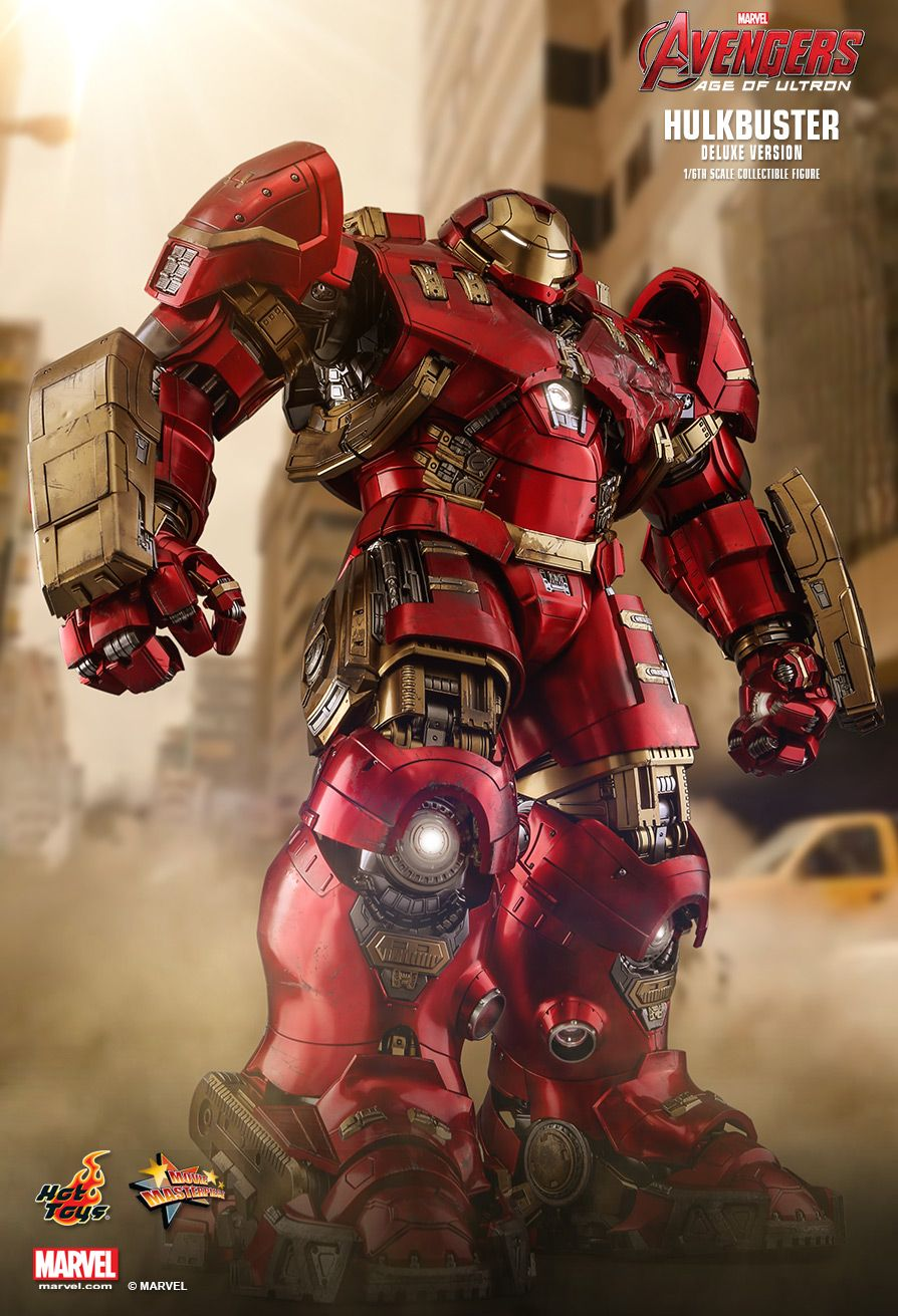 NEW PRODUCT: HOT TOYS: AVENGERS: AGE OF ULTRON HULKBUSTER (DELUXE VERSION) 1/6TH SCALE COLLECTIBLE FIGURE 971