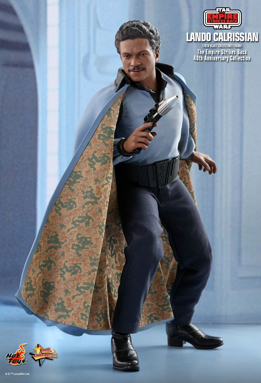 movie - NEW PRODUCT: HOT TOYS: STAR WARS: THE EMPIRE STRIKES BACK™ LANDO CALRISSIAN™ (STAR WARS: THE EMPIRE STRIKES BACK 40TH ANNIVERSARY COLLECTION) 1/6TH SCALE COLLECTIBLE FIGURE 97284810
