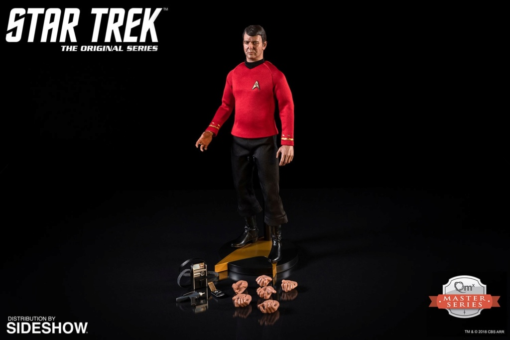 "NEW PRODUCT: Lt. Commander Montgomery Scott ""Scotty"" Sixth Scale Figure by Quantum Mechanix 978"