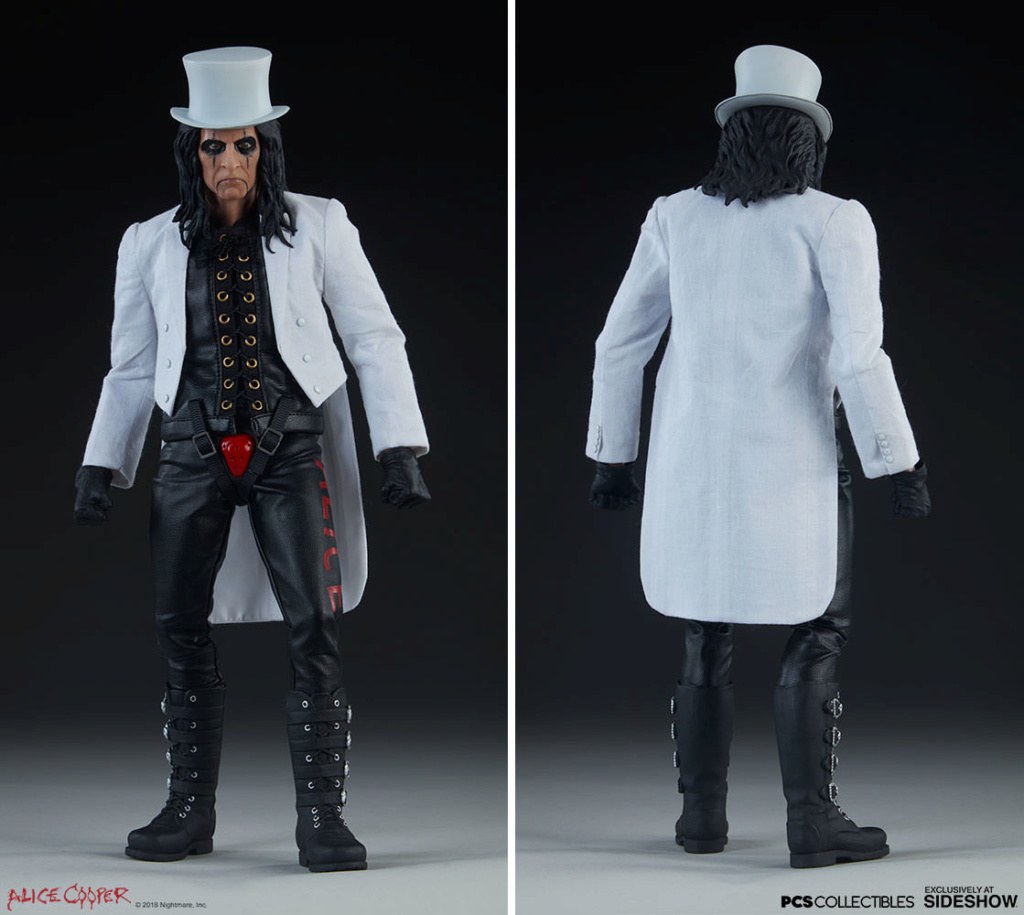 NEW PRODUCT: Alice Cooper Sixth Scale Figure by Pop Culture Shock 979