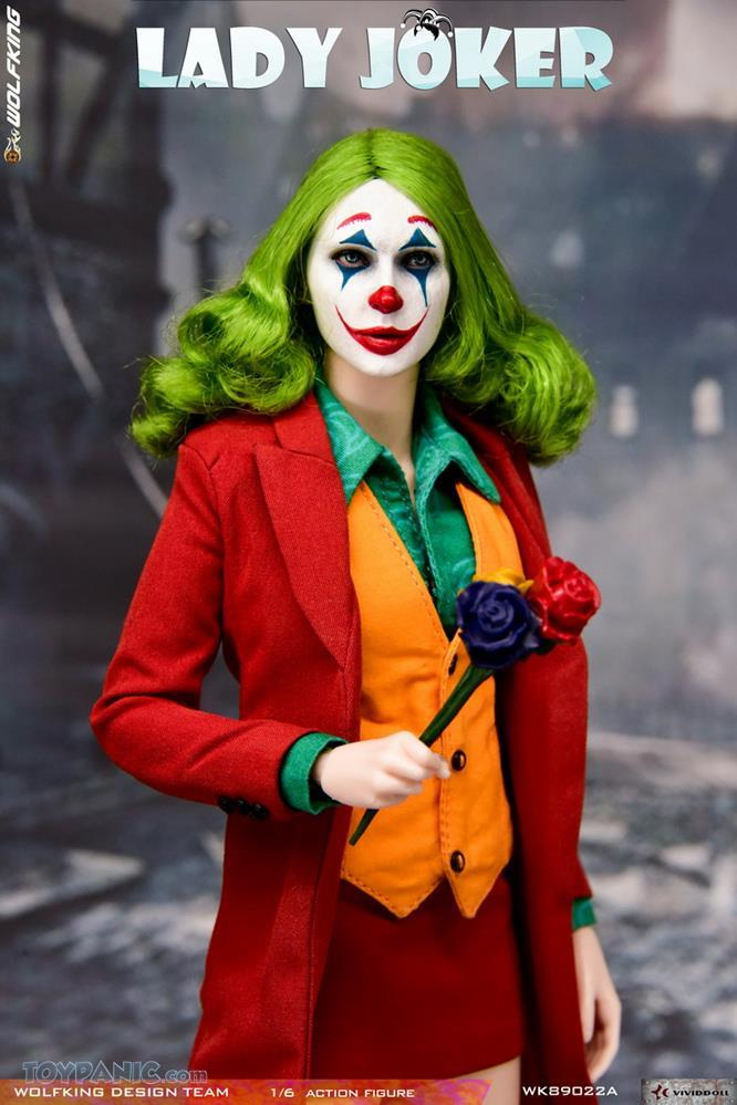 Wolfking - NEW PRODUCT: Wolfking: 1/6 scale Female Joker figure (Standard and Deluxe Editions) 97dc7c10