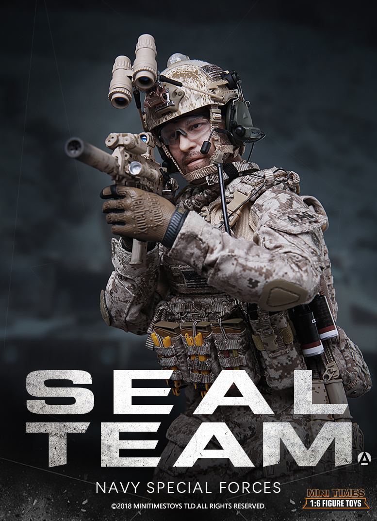 NEW PRODUCT: MINI TIMES TOYS US NAVY SEAL TEAM SPECIAL FORCES 1/6 SCALE ACTION FIGURE MT-M012 980