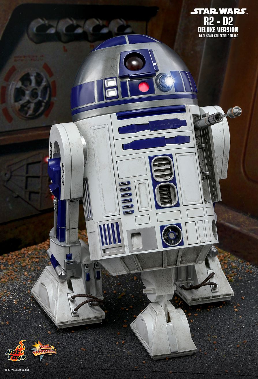 NEW PRODUCT: HOT TOYS: STAR WARS R2-D2 DELUXE VERSION 1/6TH SCALE COLLECTIBLE FIGURE 983