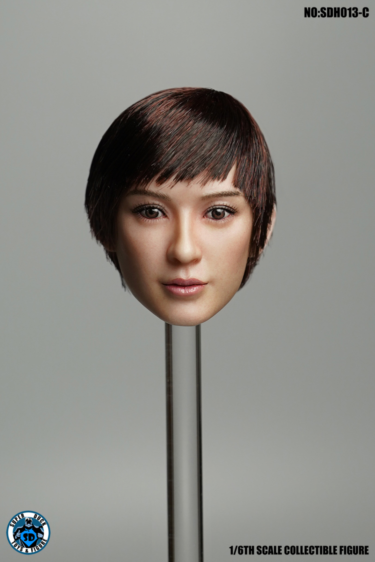 superduck - NEW PRODUCT: SUPER DUCK New product: 1/6 SDH013 female head carving - ABC three models 986