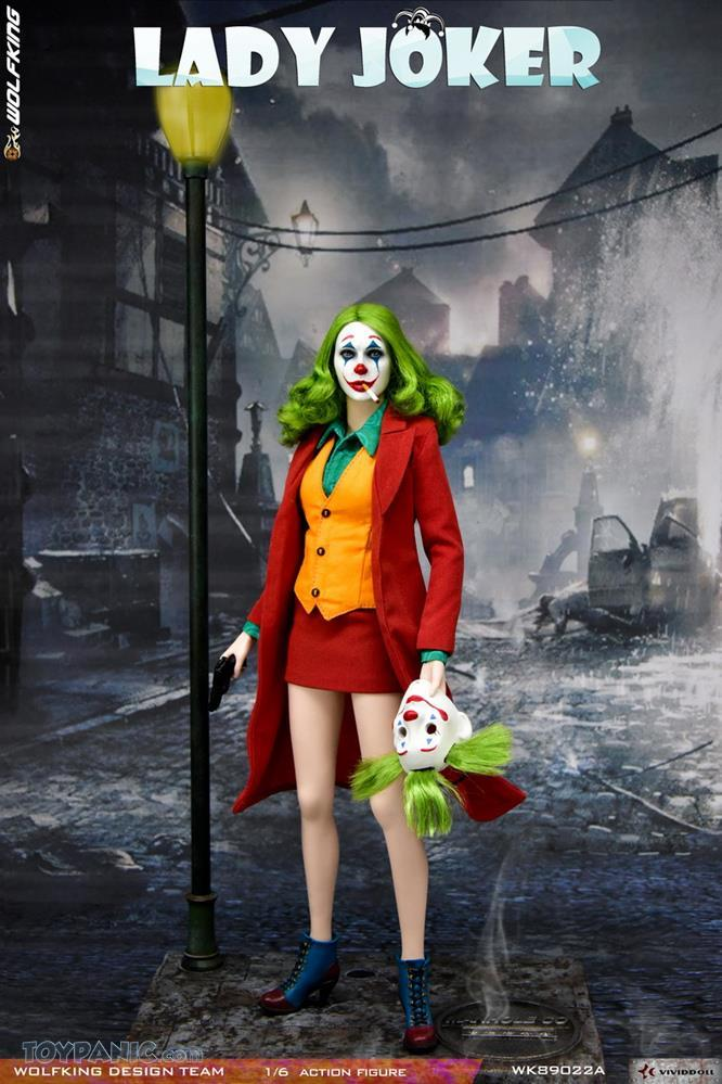 WolfKing - NEW PRODUCT: Wolfking: 1/6 scale Female Joker figure (Standard and Deluxe Editions) 9929ce10