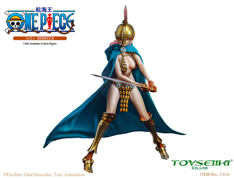 "NEW PRODUCT: TOYSEIIKI New product: 1/6 ""One Piece"" genuine license - Sword Fighter Rebecca (double head carved single body) 996"