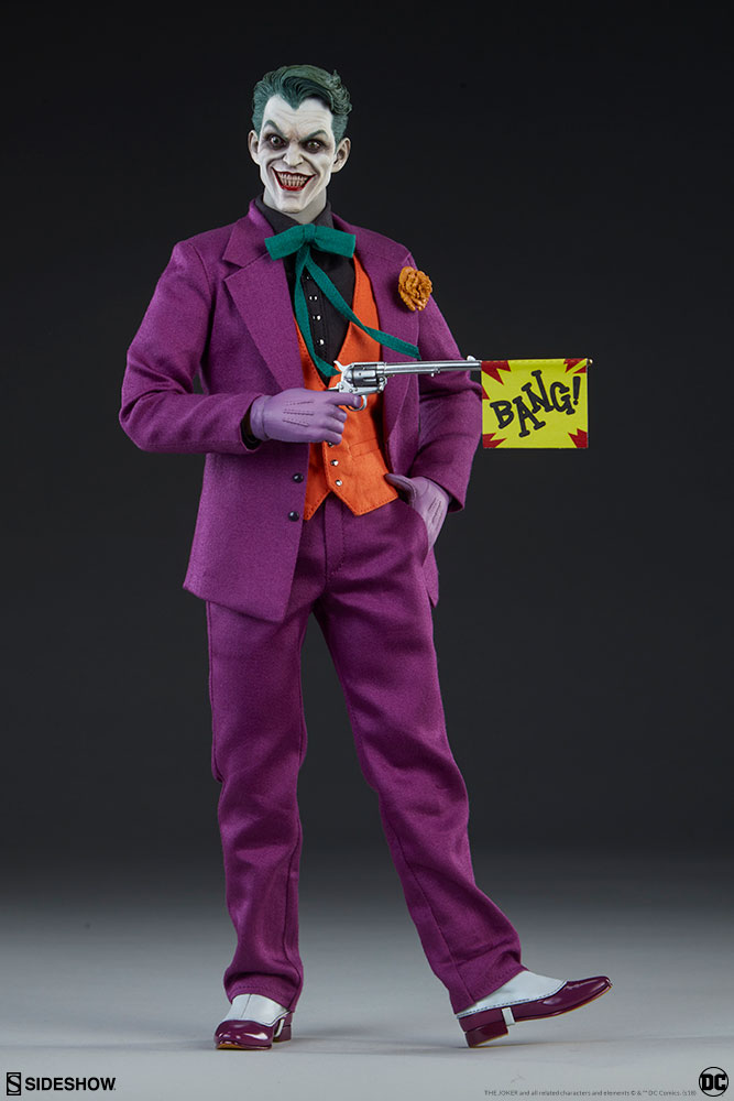 batman - NEW PRODUCT: SIDESHOW COLLECTIBLES: The Joker Sixth Scale Figure (Exclusive Laughing Head Sculpt) 999