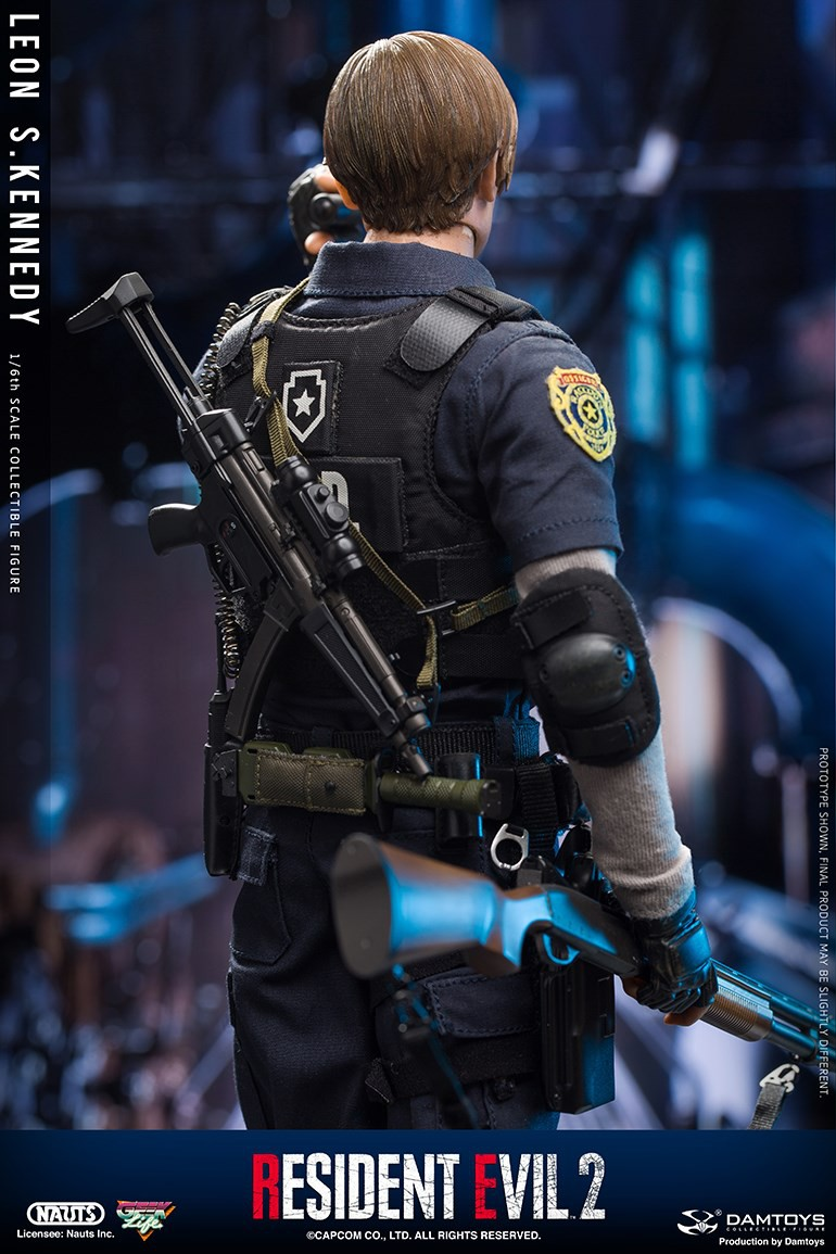 "Sci-Fi - NEW PRODUCT: NAUTS & DAMTOYS: 1/6 ""Resident Evil 2""-LEON S.KENNEDY/Lyon S. Kennedy remake #DMS030  9a5ed310"