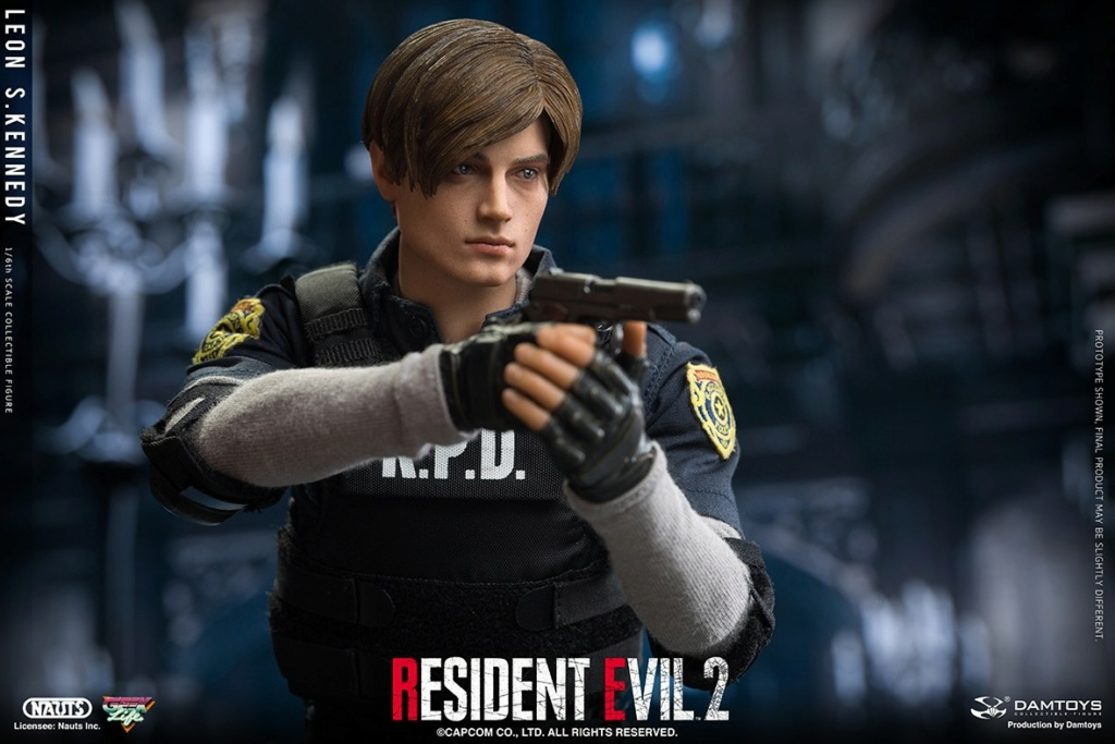 "Sci-Fi - NEW PRODUCT: NAUTS & DAMTOYS: 1/6 ""Resident Evil 2""-LEON S.KENNEDY/Lyon S. Kennedy remake #DMS030  9c628f10"