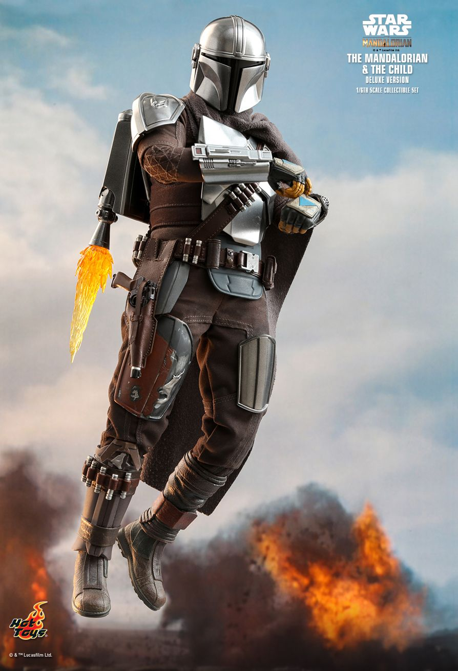 Sci-Fi - NEW PRODUCT: HOT TOYS: THE MANDALORIAN THE MANDALORIAN AND THE CHILD 1/6TH SCALE COLLECTIBLE SET (Standard and Deluxe) 9c91b310
