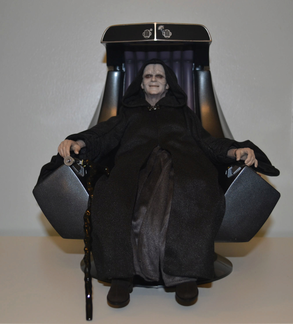 palpatine - Hot Toys Star Wars Emperor Palpatine (Deluxe) Review _dsc2912