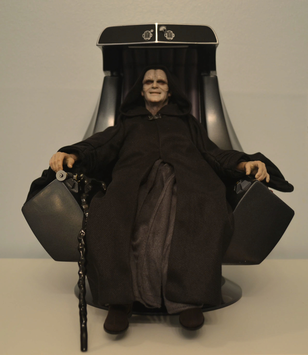 palpatine - Hot Toys Star Wars Emperor Palpatine (Deluxe) Review _dsc2913